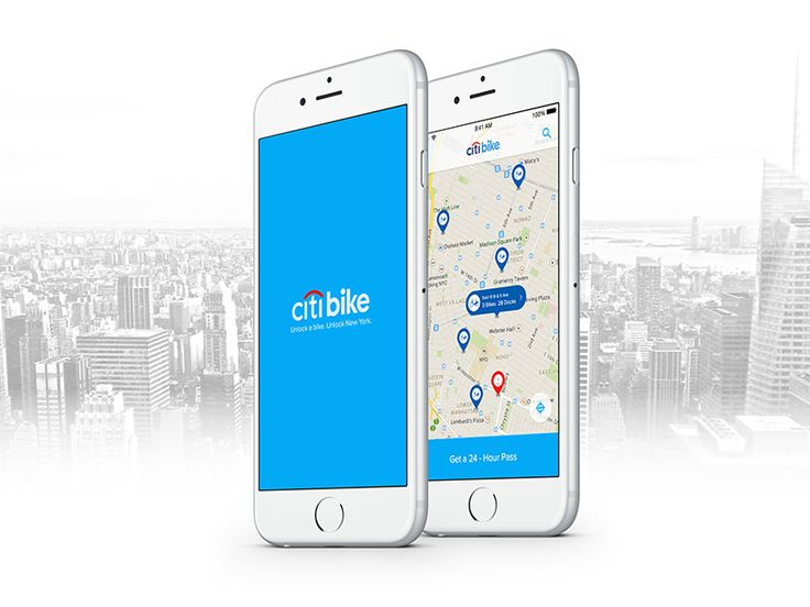 Redesigning the Citi Bike App. View my project here: http://sunnie-sang.com
