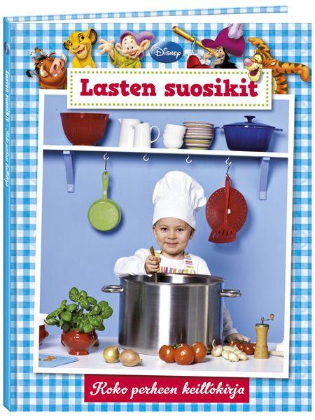 Lasten suosikit - Koko perheen keittokirjassa on ohjeet kolmen viikon arkipäiviksi. Alkuviikosta syödään nopeasti valmistuvia ja maukkaita keittoja, pastoja, kala- ja liharuokia. Perjantaina juhlistetaan alkavaa viikonloppua ja herkutellaan hieman.