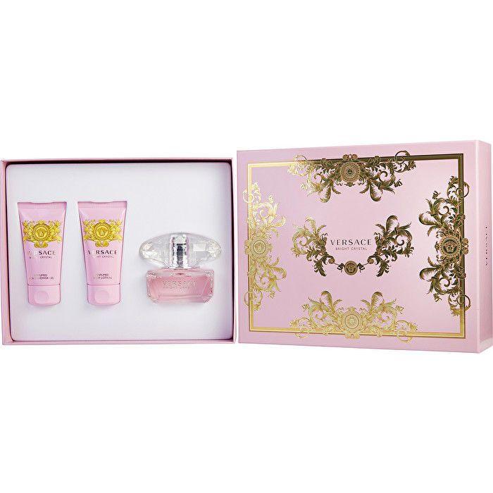 Versace Yellow Diamond Gift Set 1.7 oz Eau De Toilette Spray   1.7 oz Body Lotion   1.7 oz Shower Gel