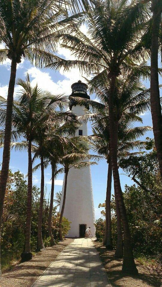 Key Biscayne #Lighthouse, #Florida                                                                                                                                                      More