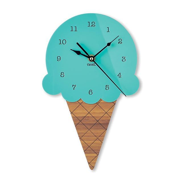 Just dont lick it. Search 'ice cream wall clock' on dtll.com.au or click on the shopable link in our profile #dtll #downthatlittlelane