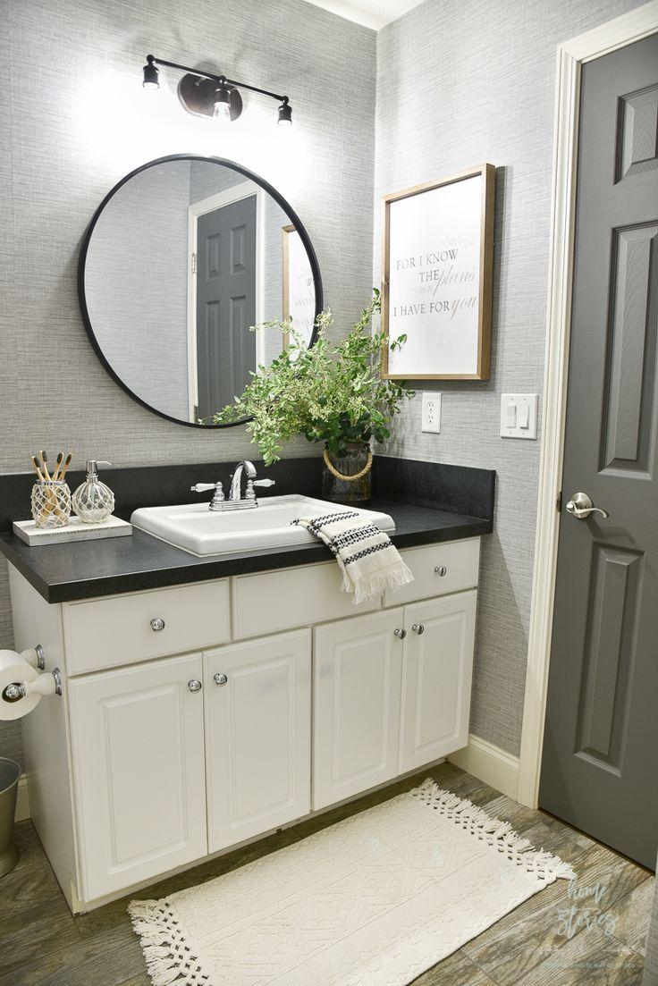 4 Tips For Creating A Budget Friendly Boho Farmhouse Bathroom
