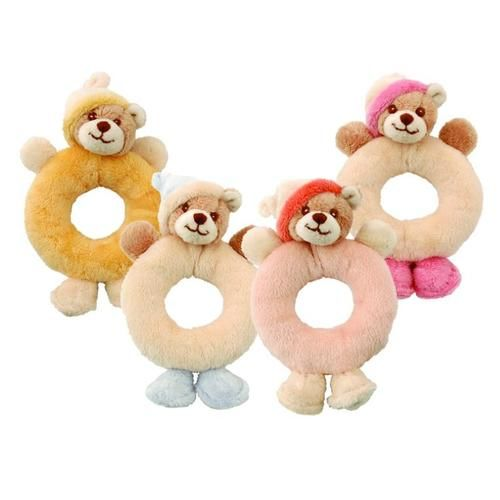 Viggo & Maria Rattle are soft little #Teddy #Bear #rattles for babies. - $14.99
