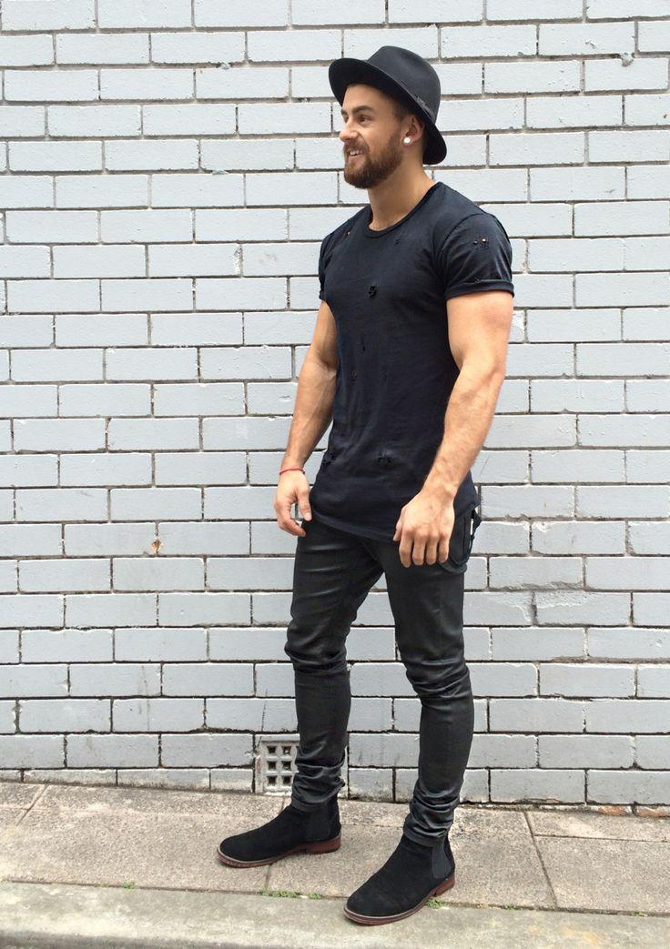 All you need is leather — bangarangblog: black daze