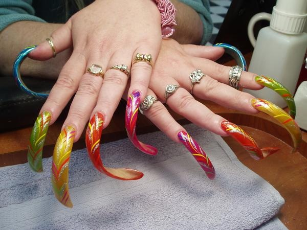 111 best NAILS (CRAZY) images on Pinterest | Crazy nails, Nail ...
