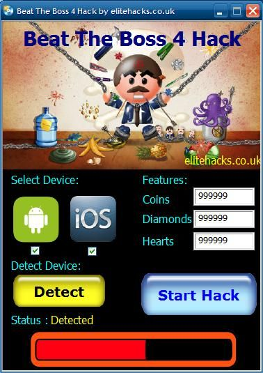Try Beat The Boss 4 Hack download 2016 update version. Hack Beat The Boss 4 Hack with cheat. Hack Beat The Boss 4 Hack on smartphone directly. New cheats available in this moment.
