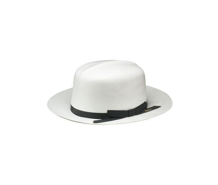 Montecristi panama hat. Product code: 140270 Shop it here: http://shop.borsalino.com/en/mans-collection/springsummer/straw-hats/straw-hats-26.html