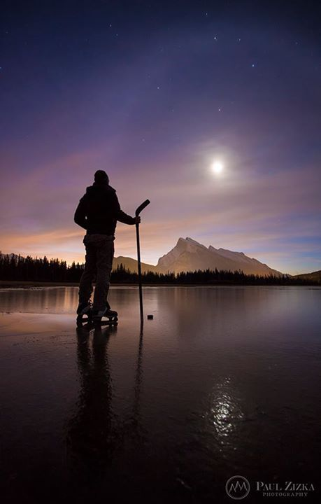 Mountain outdoor hockey