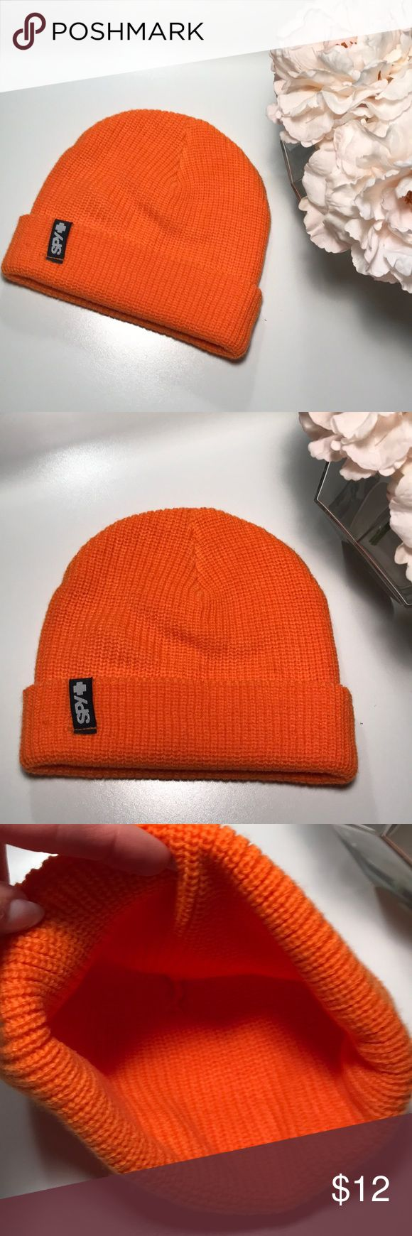 Bright orange SPY hat Nwot SPY Accessories Hats