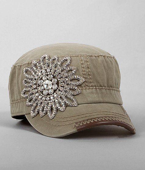 """""""Olive & Pique Embellished Military Hat"""" www.buckle.com"""