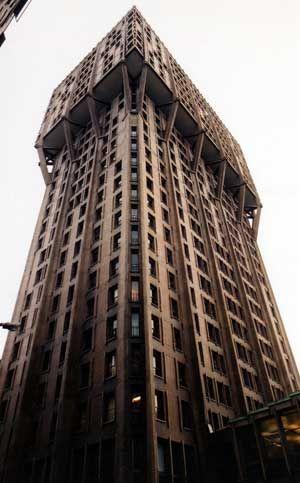 Torre Velasca, Milan, Italy, BBPR group, 1951_58