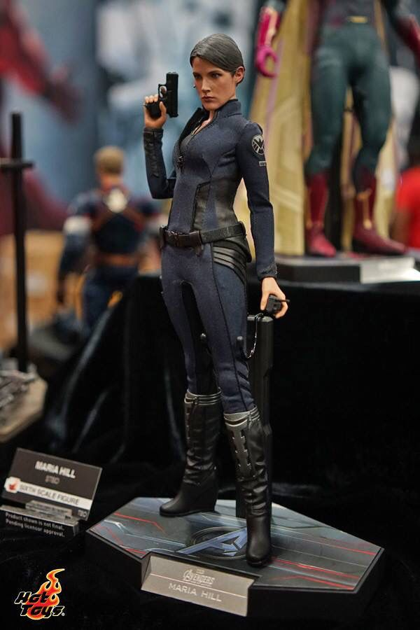Hot toys Display at San Diego Comic Con. Avengers - Maria Hill