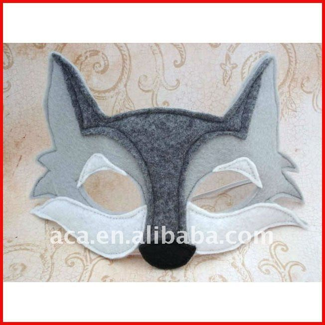 wolf mask for kids to wear for Benjy's bday