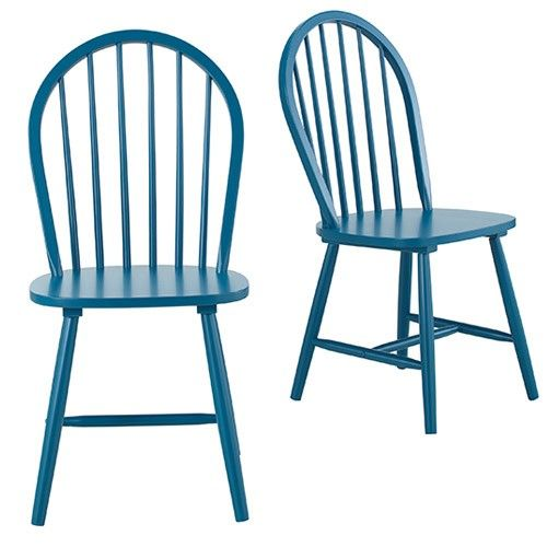 Set of 2 - Cordelle Dining Chair - Cobalt Blue