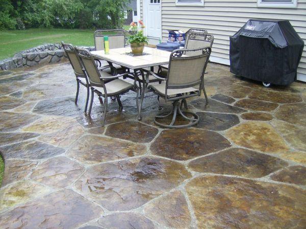 84 best outdoor flooring,concrete,stone... images on pinterest ... - Outdoor Flooring Ideas Patio