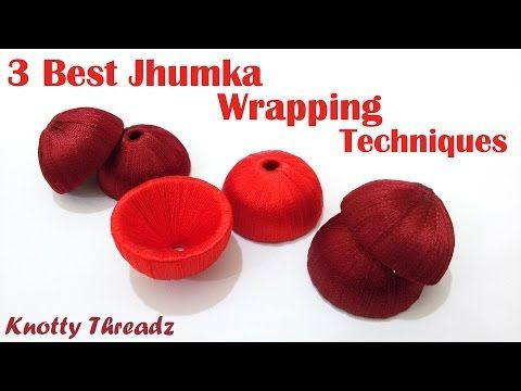 Do you know Which materials used for make Silk Thread Jewellery - YouTube