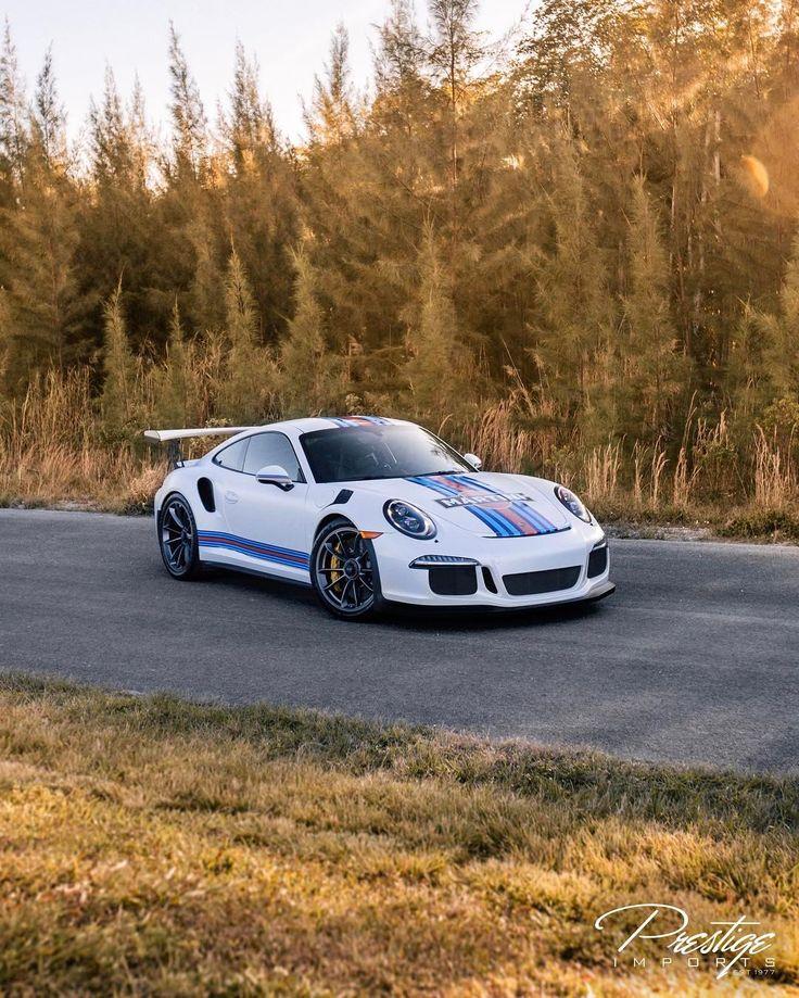 "1,946 Likes, 10 Comments - Prestige Imports (@prestigeimports) on Instagram: ""2016 Porsche GT3RS • Martini Edition Now available! 1k miles contact sales prestigeimports.com…"""