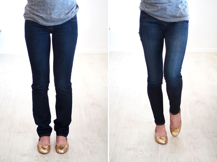 Learn how to hem your own jeans with this tutorial.