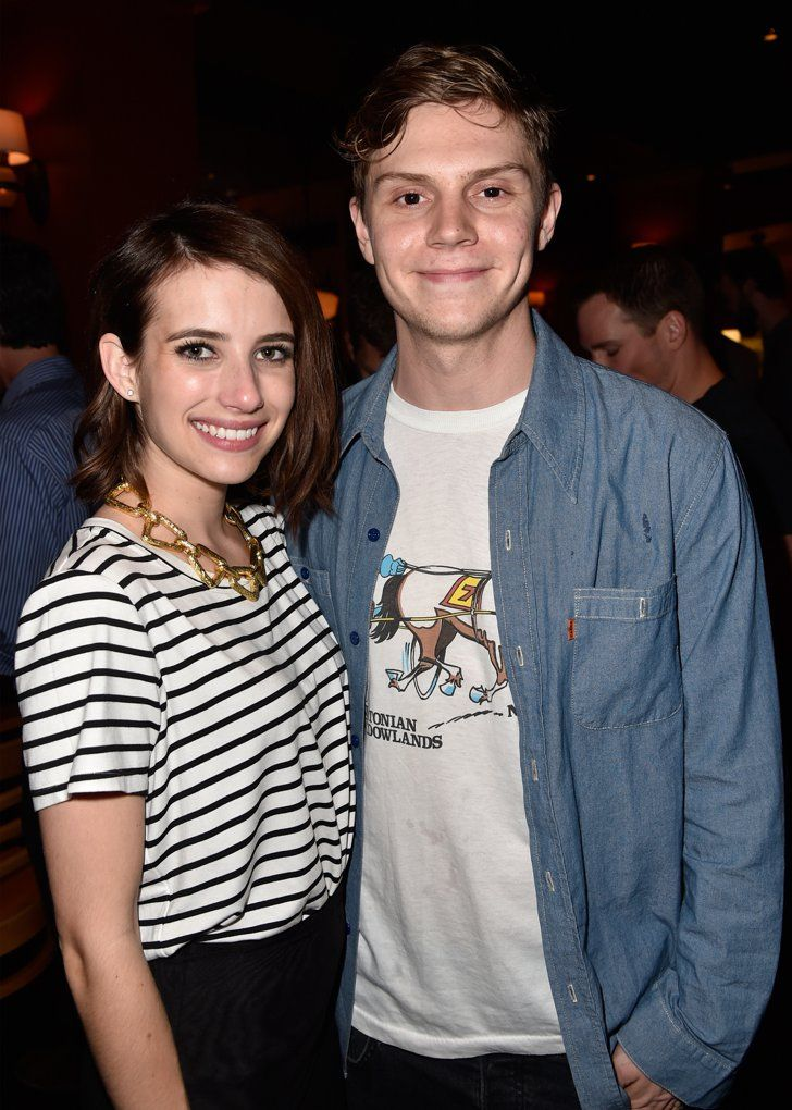 Pin for Later: 2015 Was the Year of Celebrity Breakups — See All the Couples Who Split Emma Roberts and Evan Peters
