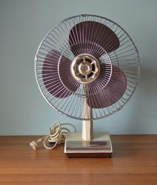 Vintage fan mid century Seabreeze  S16/MG