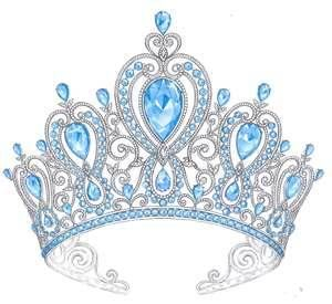 Yes!  Aquamarine tiara--my invisible one!  ;)