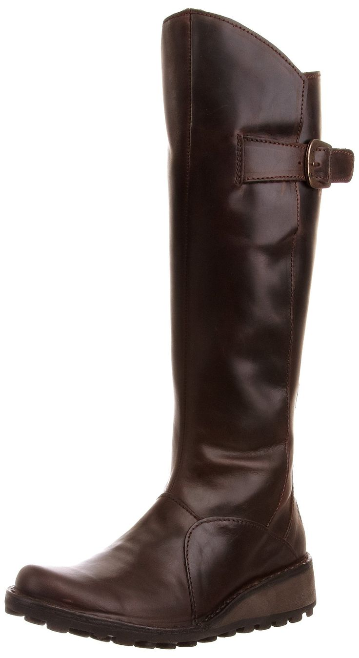 Fly London Mol, Women's Boots, Dark Brown, 3 UK