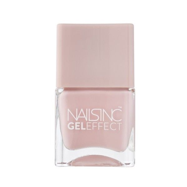 nails inc. Mayfair Lane Gel Effect Nail Varnish (14ml) found on Polyvore