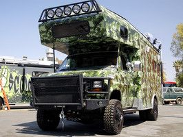 Rock My RV Big Foot Hunter Before And After