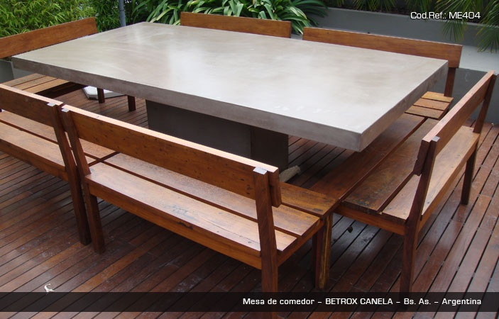 Betrox by EDFAN  exterior table. 200x120 cm.