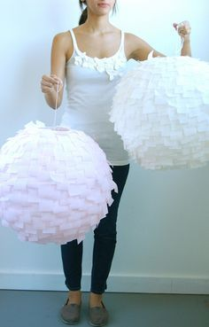 Modern Crepe Paper lanters