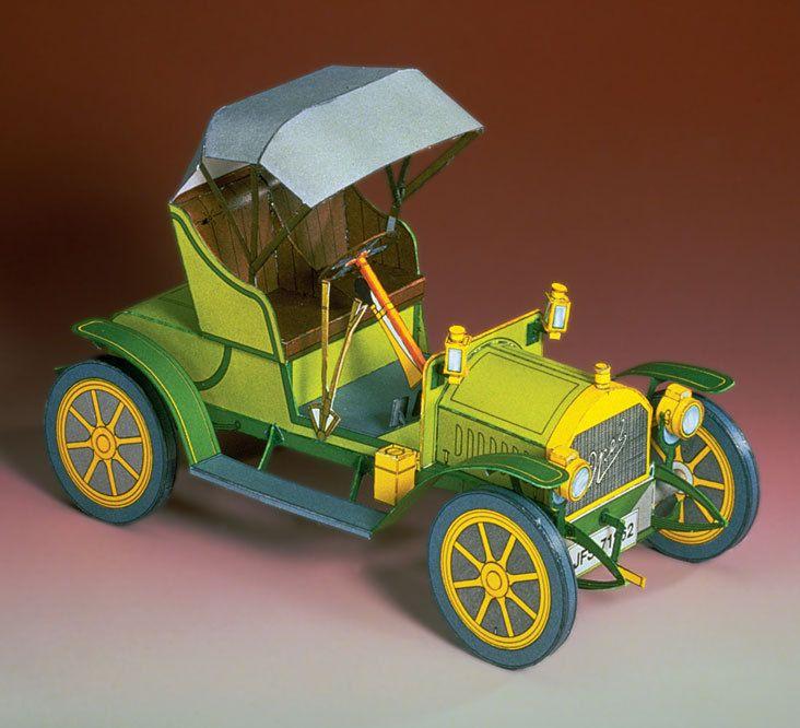 144 best Vintage Cars Papercraft images on Pinterest   Antique cars ...