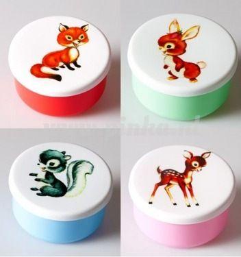 Snackbox vintage dier