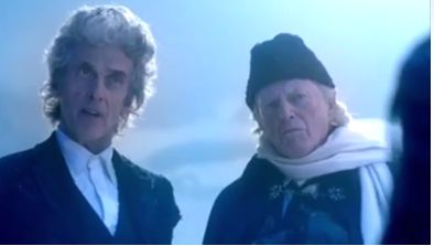 Doctor Who Christmas special: First look at Peter Capaldi's final outing  Details of Peter Capaldi's final outing in Doctor Who have been revealed as the first trailer for the Christmas special was released online. The one-minute clip for the episode, titled Twice Upon A Time, sees Capaldi and the First Doctor team up.