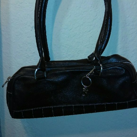 authentic Armani exchange purse Black leather armani exchange purse Armani Exchange Bags