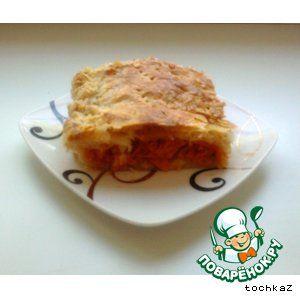 Хрустящий пирог с морковью