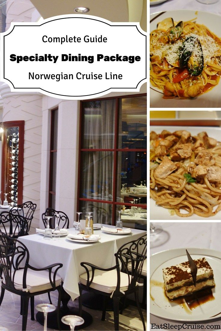 Norwegian Cruise Line Specialty Dining Package