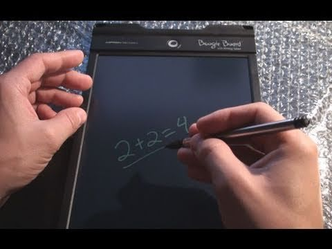 Superb Boogie Board Writing Board Video Gizmo Boogie Board Download Free Architecture Designs Jebrpmadebymaigaardcom