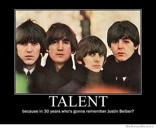 talent-beatles......not sure which board to put this on its funny true and music related