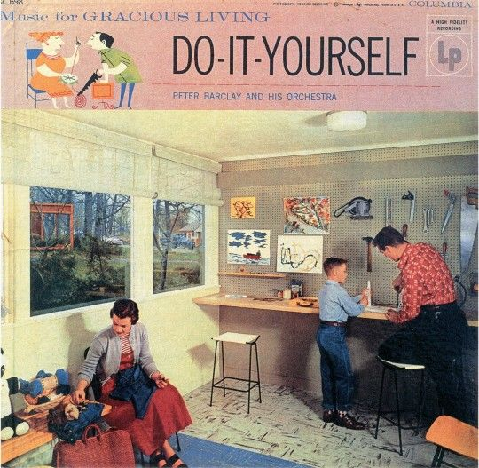 94 best album covers images on pinterest cover art album covers music for gracious living do it yourself barclay peter and his orchestra columbia cl 698 1955 solutioingenieria Choice Image
