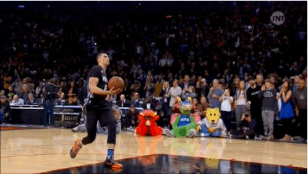 Was für ein epischer Abend! Beim NBA All-Star Weekend im Air Canada Centre in Toronto verteidigte Zach LaVine von den Minnesota Timberwolves seinen Titel beim