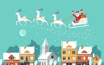 Wo wohnt eigentlich der Weihnachtsmann?