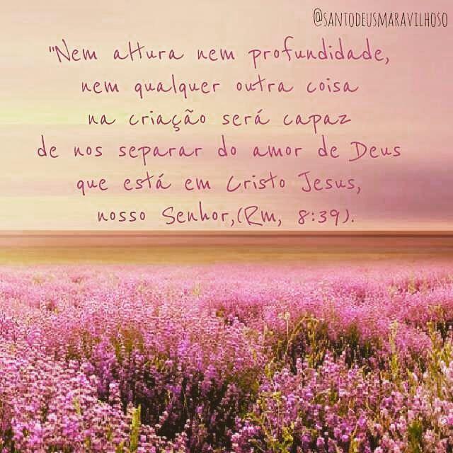 Amado(a), que a paz do Senhor esteja contigo neste dia e que Deus abençoe a sua semana ! Você já leu este versículo? Já se deu conta da profundidade deste amor? Se você reconhece Deus como seu...