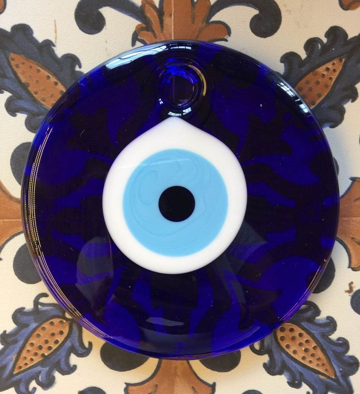 SQUARE EVIL EYE DECOR, 15 cm, Gifts Under 50$, Gifts Under 30$