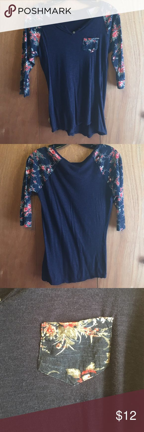 Which christmas gown ideas with holed - Rue 21 3 4 Sleeve T Shirt