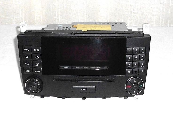 05 07 Mercedes C230 C240 C320 C350 OEM CD Player Radio Head Unit Model  MF2531 #MercedesFactoryUnit