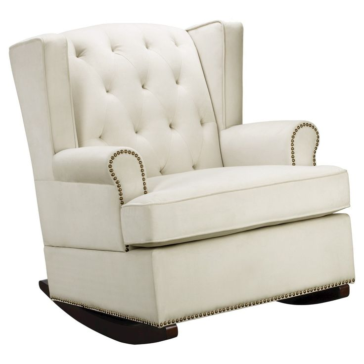 Tufted Nailhead Wingback Rocker  Rockers, Target and Love this