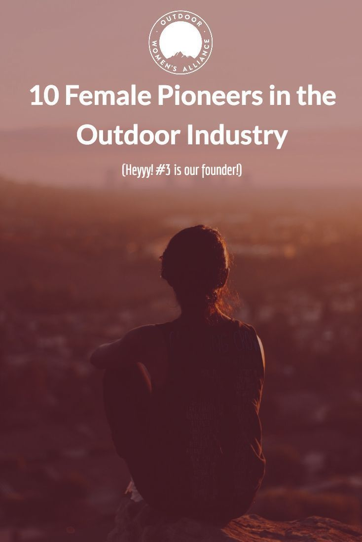 Heyyy, we recognize her! 10 Female Pioneers in the Outdoor Industry: (#3 is @outdoorwomen founder, @ginabegin!) #outdoorwomen #ForceOfNature