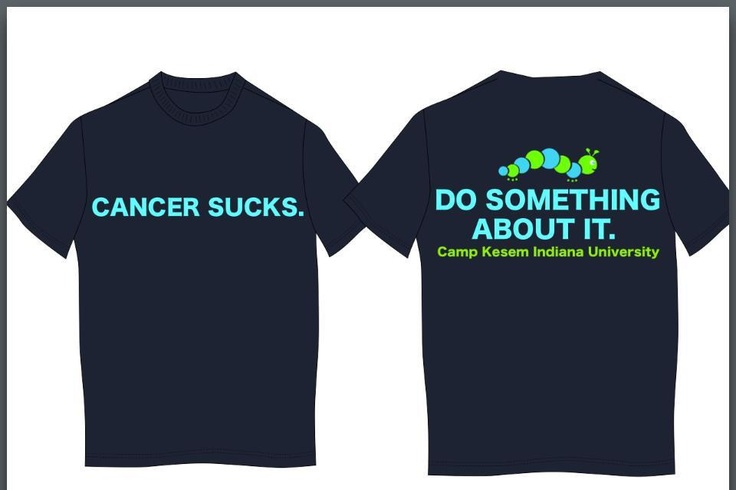 """Love our new """"Cancer Sucks"""" shirts! They are only $12 too!"""