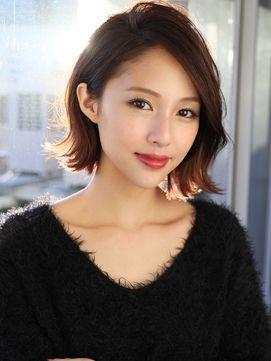 (gallaria)大人綺麗な外ハネボブ - 24時間いつでもWEB予約OK!ヘアスタイル10万点以上掲載!お気に入りの髪型、人気のヘアスタイルを探すならKirei Style[キレイスタイル]で。
