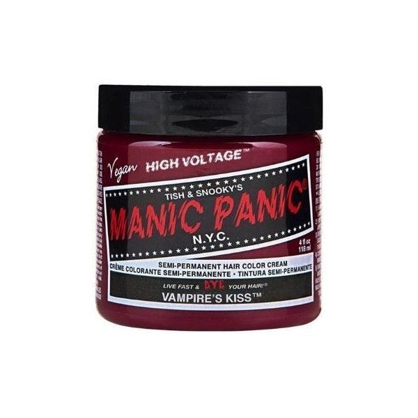 Amazon.com : Manic Panic Hair Dye Classic Cream Color Vampire's Kiss... (€19) ❤ liked on Polyvore featuring beauty products, haircare, hair care, manic panic and red hair care